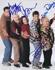 EVERYBODY LOVES RAYMOND CAST SIGNED 8x10 PHOTO ROBERTS ROMANO GARRETT + HEATON