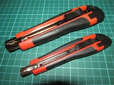 Brand New 2PC Snap Off Blade Knife Handles Only Tradesman Knife Holder No Blades