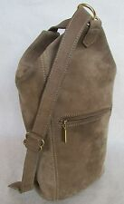 Authentic Vintage Coach Sonoma Flat Pack Sling Bag Taupe Nubuc 4944 USA