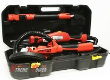 6FT Swivel Electric 5 Speed Drywall Sander 6PCS Sand Paper + Portable Case