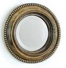 Wall Hanging Brackley Mirror - Round - Traditional - Gold Painted Wood Frame