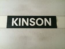 "Bournemouth 1980's Bus Destination Blind 24"" (sec)- Kinson"