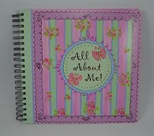 Creative Journal Keepsake Scrap Craft Book All About Me Girls Pictures Events