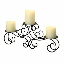 Homebeez Table Desk Candle Holder Wrought Iron Wedding Centerpiece