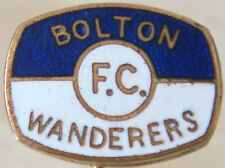 BOLTON WANDERERS Rare vintage club crest type badge Stick pin 17mm x 13mm