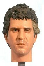 1:6 Custom Head Mel Gibson as Mad Max battle damaged