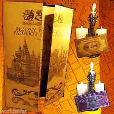 Harry Potter Marauder's Map - Gold Shimmer Replica - UNIQUE BIRTHDAY PRESENT!