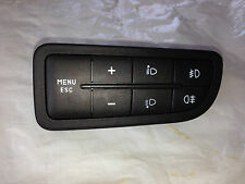 FIAT GRANDE PUNTO EVO & LATER DRIVERS SIDE COMPUTER & HEIGHT & FOG LIGHT SWITCH