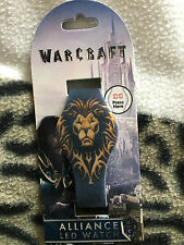 Warcraft  Alliance  led digital  watch
