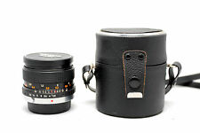SUPER TRAVENAR 28MM F/2.8 OLYMPUS OM MOUNT LENS | CASE