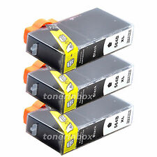 3pk 564XL New Gen. BK Ink for HP Photosmart D5400 D5445 D5460 D5463 D5468 D7500