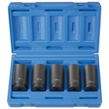 """Grey Pneumatic 5 Pc. 1/2"""" Drive Spindle Nut Set - 1705SN"""