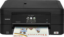 Brother - Work Smart Series MFC-J680DW Wireless All-in-One Printer - Black