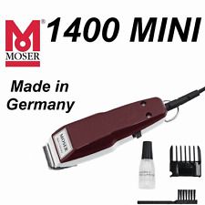 MOSER 1400 1411 MINI Professional Corded Hair Trimmer 0.1mm **Made in Germany**