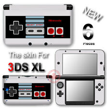 Retro NES Edition Nintendo SKIN STICKER COVER for Original Nintendo 3DS XL