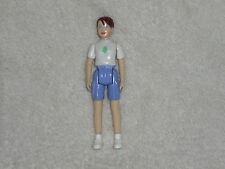 Fisher Price Sweet Streets Dollhouse Camping Camp Brown Hair Girl