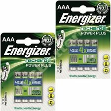 8 x ENERGIZER AAA 700 mAH POWER PLUS Rechargeable Batteries ACCU 700