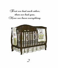 First we had each other,you now everythinVinyl Wall Decal Sticky Decor Letters