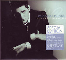 Michael Buble Call Me Irresponsible CD Special Edition with bonus track, booklet
