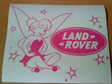 tinkerbell fairy dust logo girls vinyl car sticker novelty fun graphics stars
