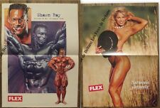 Poster Shawn Rey 1994,Melissa Coates   musculation,39 x 52 cm, bodybuilding