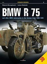 WW2 German Army BMW R 75 & Other BMW Motorcycles 1930-1945 Kagero Reference Book