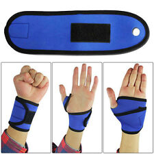 Hand Wrist Palm Thumb Brace Guard Wrap Glove Support Protect Sport Gym Training