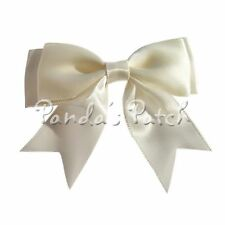 Large 25mm Satin Ribbon Double Bows - Choose Pack Size and Colour Free P&P
