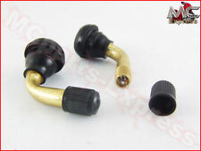 Honda VFR800 VTEC Motorcycle 90 Degree Bent Valve Stems 11.3mm Pair