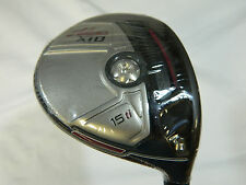 New Adams XTD Ti 15* 3 Fairway Wood Stiff flex matrix red tie 7Q3 graphite
