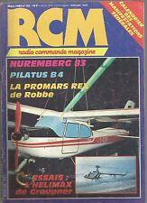 RCM  N°23 LE JALOU / LE GLOWSTAT / L'HELIMAX / LE STRATOS / LE PILATURS B4