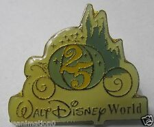 Disney WDW 25th Anniversary Cinderella's Coach VIP Press Pin