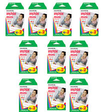 200 Prints Fujifilm Instax Mini Instant Color Film for 8, 7s, 70, NEO 90, SP-1