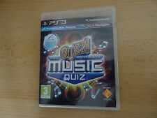 Buzz! THE ULTIMATE MUSIC QUIZ (PS3) nuovo non SELAED