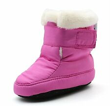 Newborn Baby Boys and Girls Waterproof Winter Warm Snow Boots 13cm6-12Months,