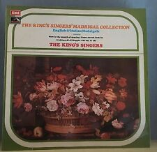 The King's Singers' Madrigal Collection 1974 UK Vinyl LP EXCELLENT CONDITION