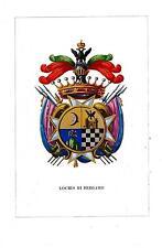 Araldica stemma araldico della famiglia Lochis di Bergamo