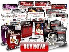 Curso de capacitación de Tatuaje Para Principiantes 8 Libros 5 Dvds Lote de trabajo en un disco
