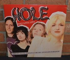 HOLE - Hole Lotta Love LIVE 1994 Broadcast, LTD Import LP VINYL New & Sealed!