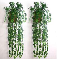 Man-made Plastic Ivy Leaf Garland Plants Vine Foliage Floral Home Decoration