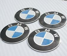 55mm BMW Steering Wheel Center Hub Caps Emblem Badge Decal Symbol Sticker Chrome
