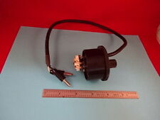MICROSCOPE PART NIKON LAMP HOLDER CABLE AS IS #65-A-06