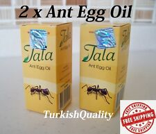 2x New Original Tala Ant Egg Oil - Permanent Hair Removal, Reducing, Natural Oil