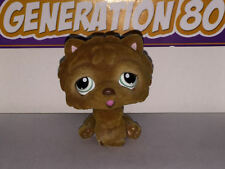 Littlest PetShop CHIEN CHOWCHOW MARRON VELOUR 332 H038 DOG CHOW CHOW Pet Shop