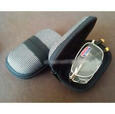 Durable Folding Glasses Eyeglass Sunglasses Eyewear Case Storage Zipper Box