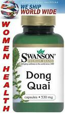 "DONG QUAI ROOT ANGELICA SINENSIS - 530 mg - 100 Capsules - ""FEMALE GINSENG"""