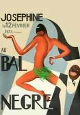 Josephine Baker JAZZ AGE Paris Night Club Poster a3 RISTAMPA