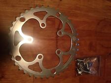 Willow Tripleizer Chainring 135 bcd 39t - Triple Adaptor - Rivendell Campagnolo