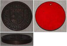 Schwere Medaille aus Messing Bayern Landkreis Altötting