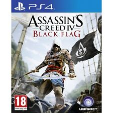 Assassins Creed IV 4 Black Flag Game PS4 Brand New